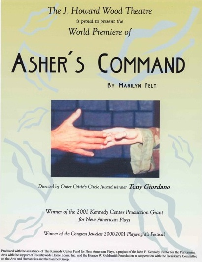 Announcement of the production of Asher's Command in Sanibel
